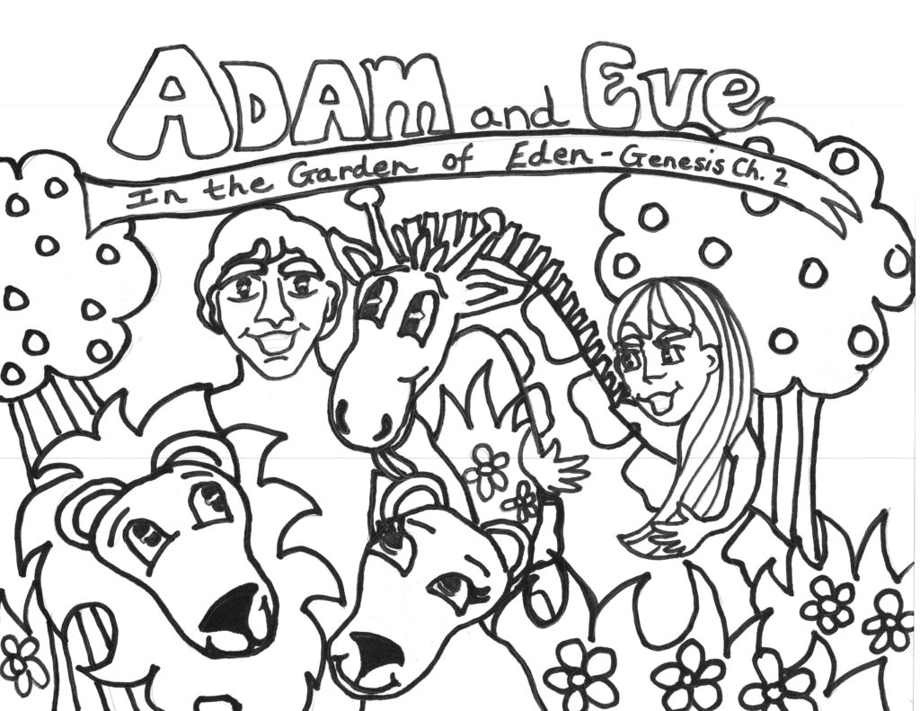 Free Printable Adam and Eve Coloring Pages for Kids Best with Download Of And Eve Coloring Pages Coloring Pages Download