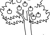 Tree Coloring Pages - Free Printable Apple Coloring Pages for Kids Gallery