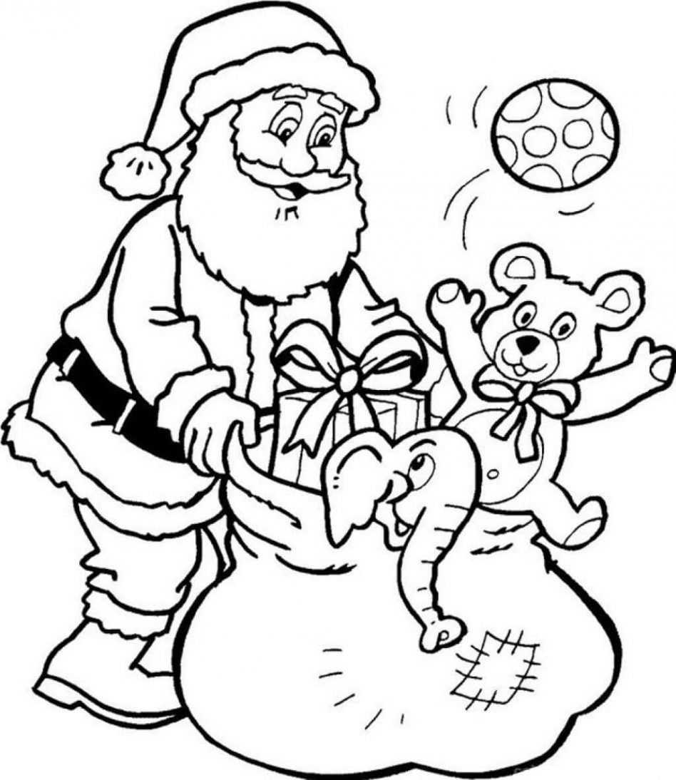 christmas coloring pages printable winter free for kids art gallery