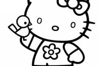 Hello Kitty Free Printable Coloring Pages - Free Printable Coloring Pages Hello Kitty D by Antonette Gallery