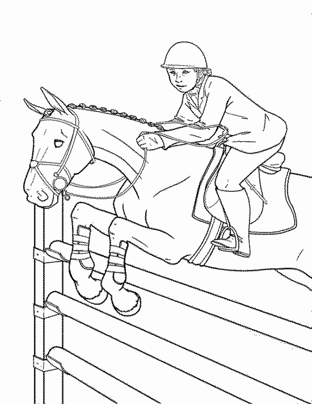 Free Printable Coloring Pages Horses Printable Coloring Page Free Download Of Horse Detailed Coloring Pages Gallery