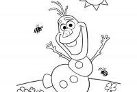 Free Coloring Pages Of Frozen - Free Printable Colouring Pages Disney Frozen Olaf Coloring Fresh Printable