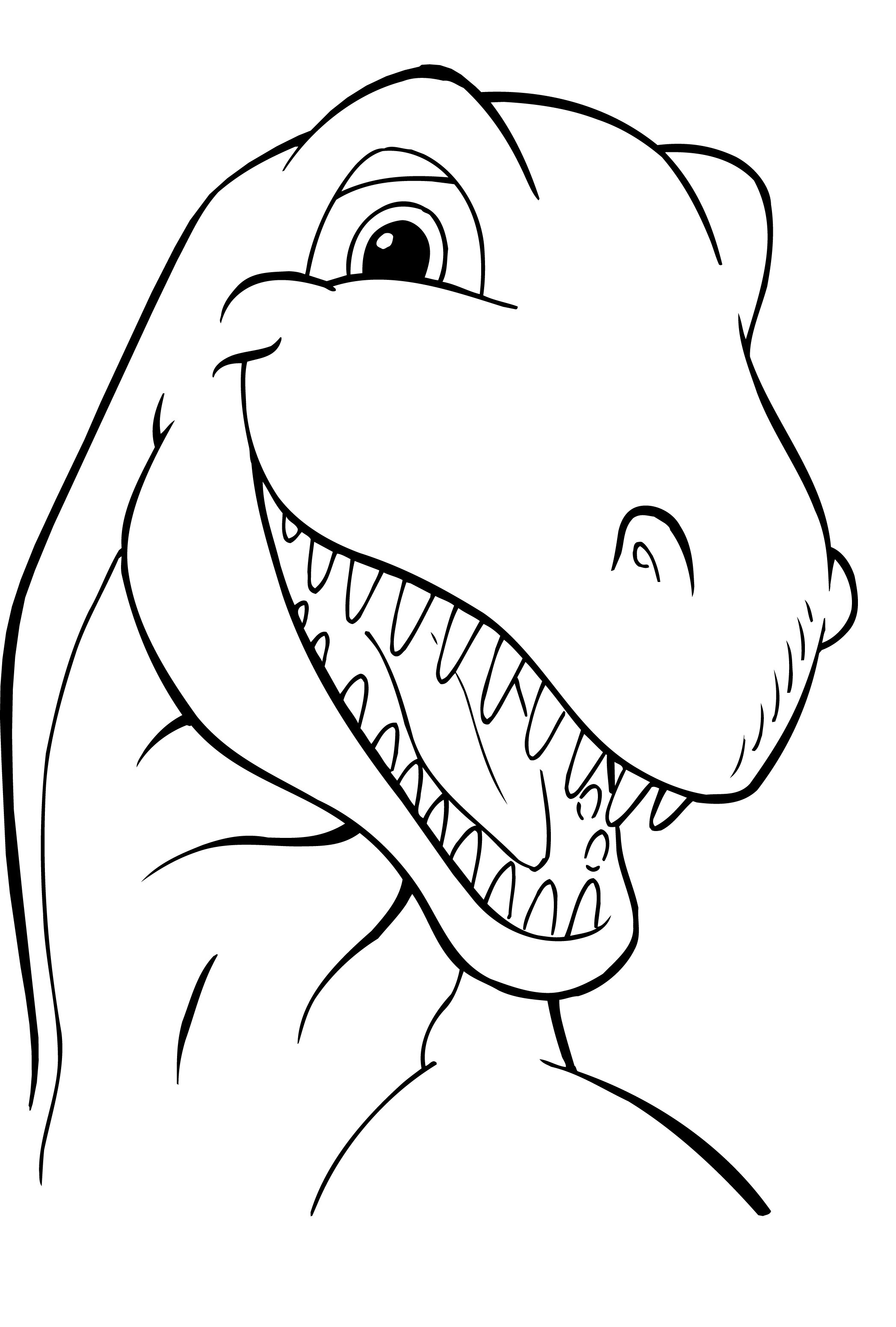 Free Printable Dinosaur Coloring Pages for Child 6212 Dinosaurs Printable Of Dinosaur Clipart Coloring Page Triceratop Pencil and In Color Gallery