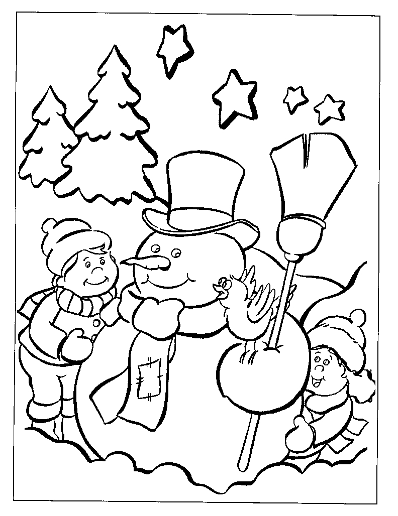 Free Printable Disney Christmas Coloring Pages Gallery