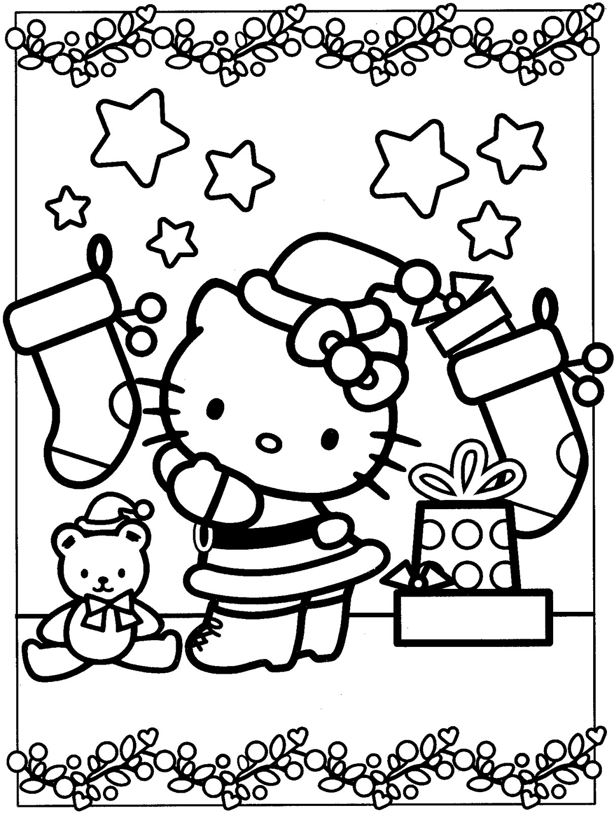 Free Printable Hello Kitty Coloring Pages 2577 with Capricus Collection Of Proven Coloring Pages to Print Hello Kitty 2895 Unknown Printable