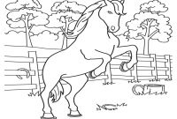 Coloring Pages Of Horses - Free Printable Horse Coloring Pages for Kids Printable
