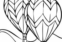 Hot Air Balloon Coloring Pages - Free Printable Hot Air Balloon Coloring Pages for Kids Download