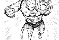 Printable Avengers Coloring Pages - Free Printable Iron Man Coloring Pages for Kids Download