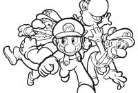 Mario Coloring Pages - Free Printable Mario Coloring Pages for Kids to Print
