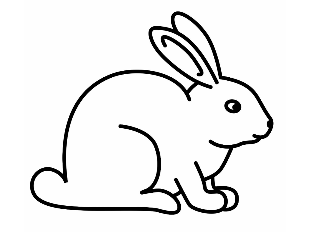 Coloring Pages Of A Rabbit Printable 3j - Free Download