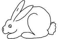 Coloring Pages Of A Rabbit - Free Printable Rabbit Coloring Pages for Kids Printable