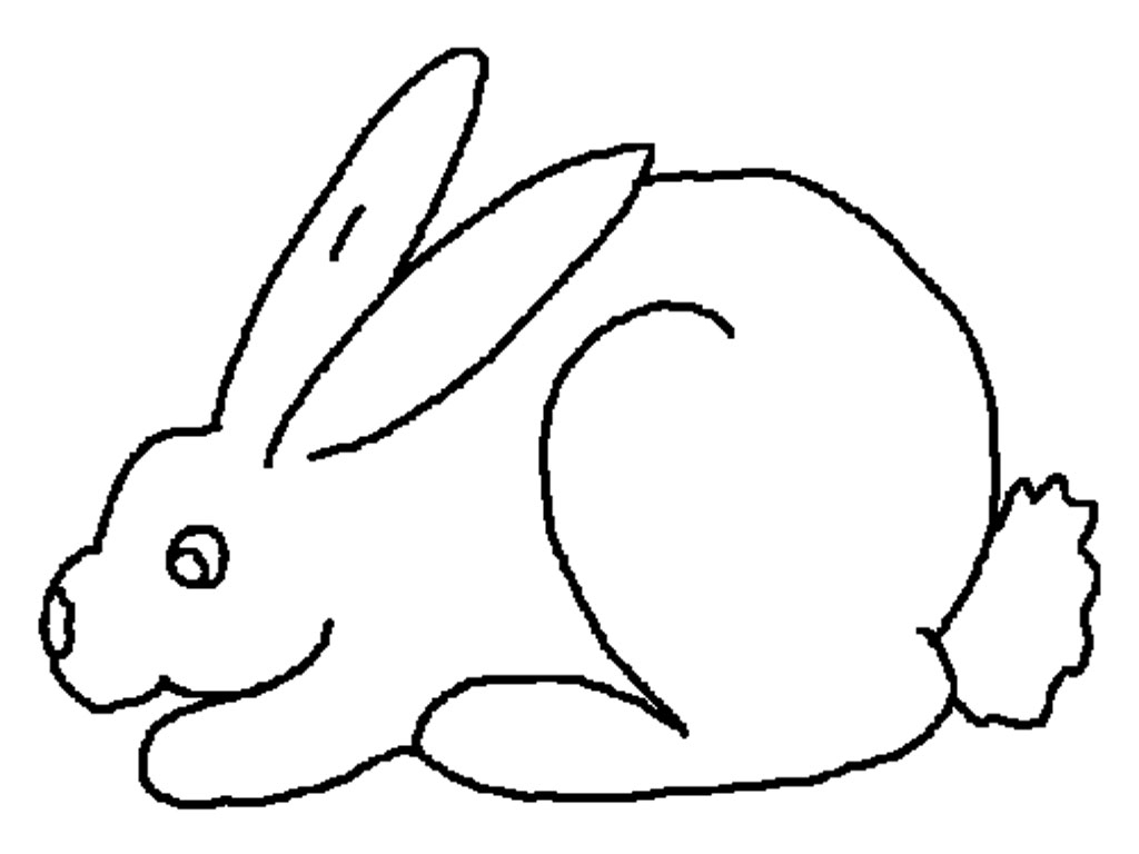 Free Printable Rabbit Coloring Pages for Kids Printable Of Remarkable Realistic Bunny Coloring Pages Rabb Unknown Download