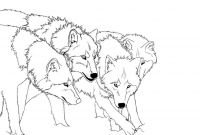 Wolf Coloring Pages Printable - Free Printable Wolf Coloring Pages for Kids Collection