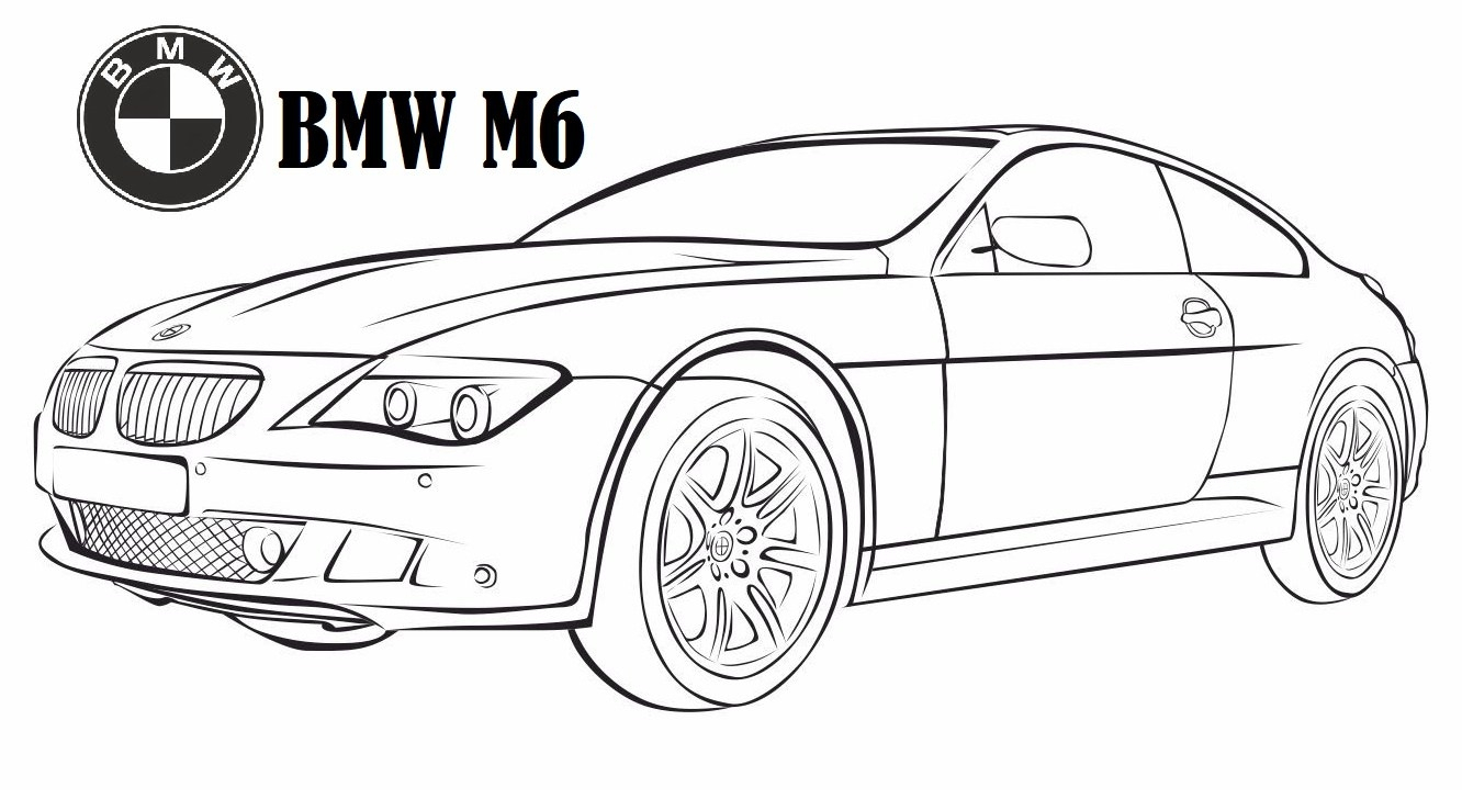 Bmw Car Coloring Pages Gallery 13f - Free For Children