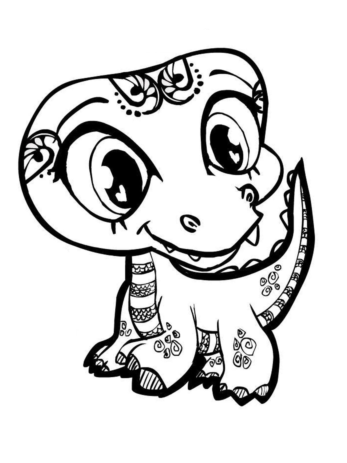 Fresh Coloring Pages Baby Leversetdujourfo Gallery Of Dinosaur Clipart Coloring Page Triceratop Pencil and In Color Gallery