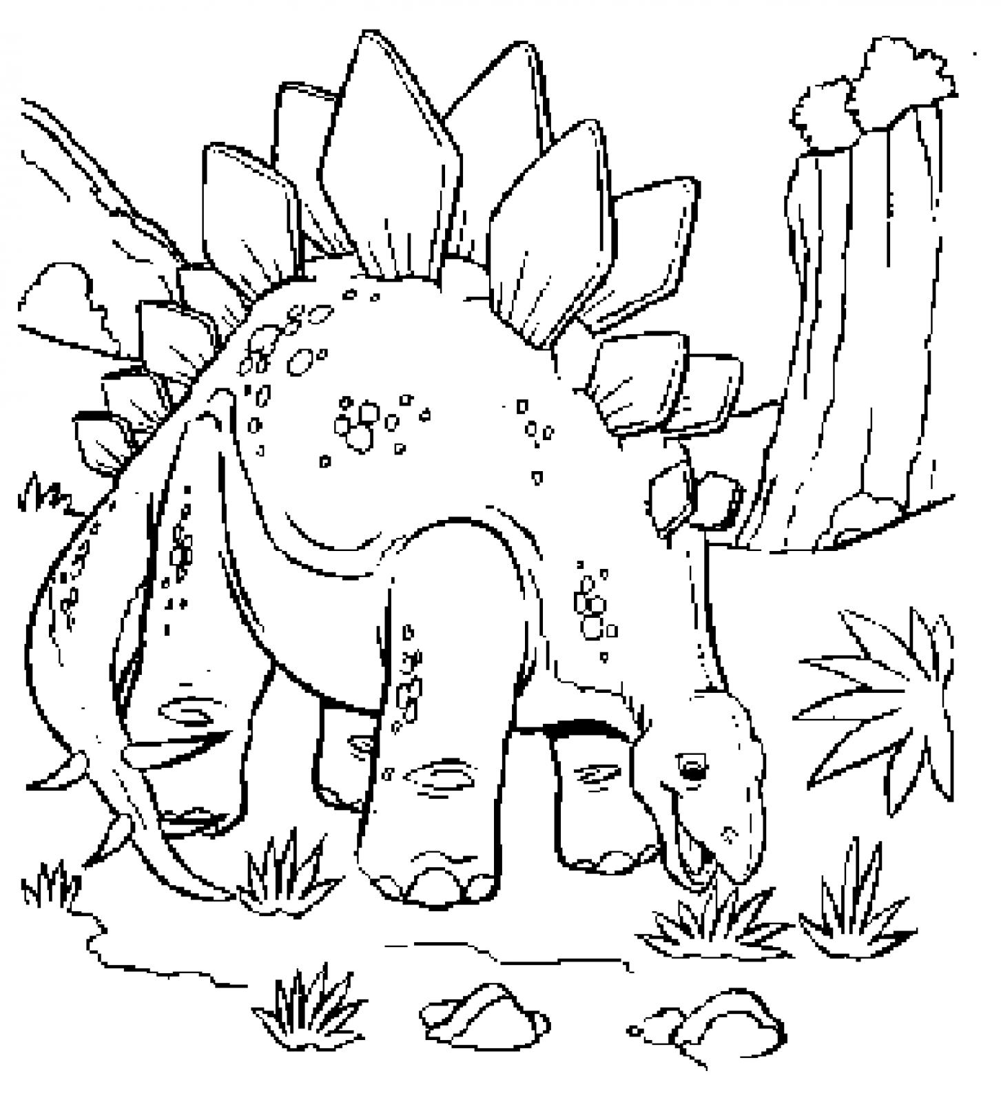 Fresh Dinosaur Coloring Pages Coloring Page Free Coloring Book Printable Of Dinosaur Clipart Coloring Page Triceratop Pencil and In Color Gallery
