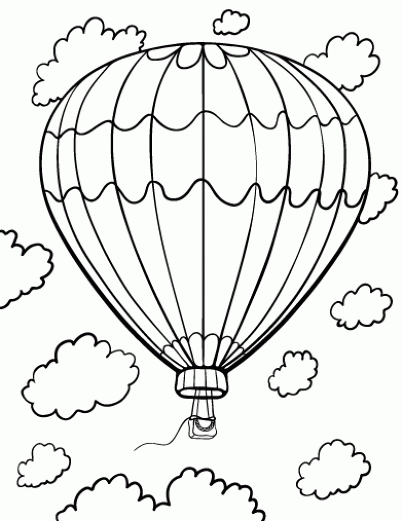 Fresh Hot Air Balloons Coloring Pages Collection to Print Of Fresh Hot Air Balloons Coloring Pages Collection to Print