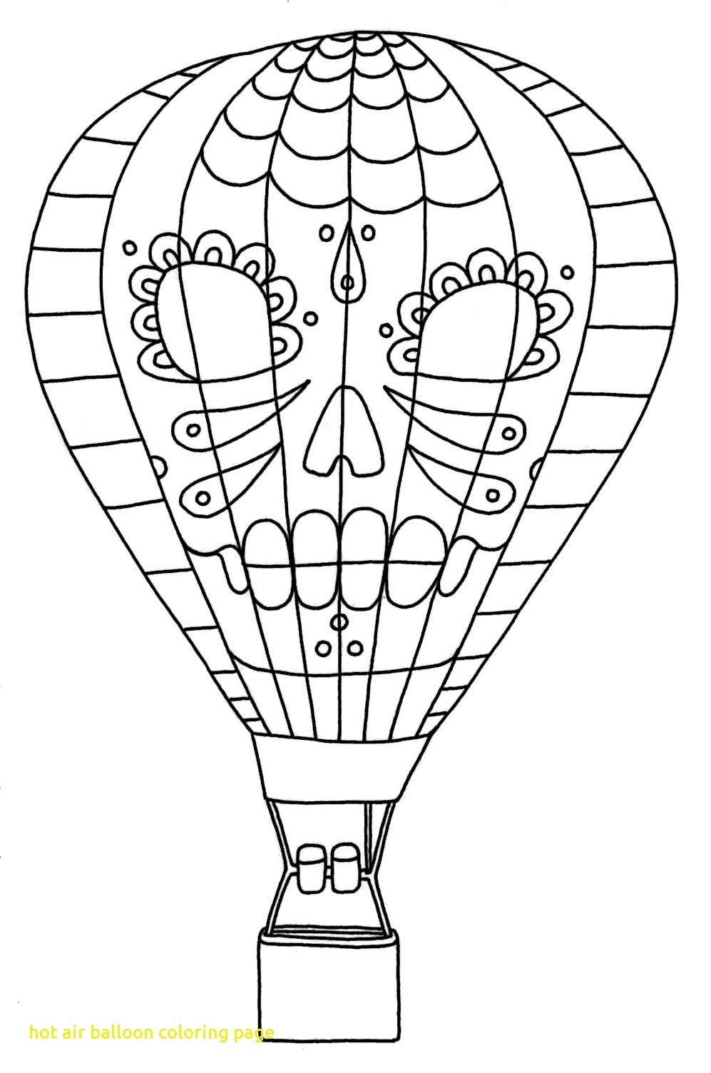 Fresh Hot Air Balloons Coloring Pages Collection to Print Of Hot Air Balloon Coloring Page Collection