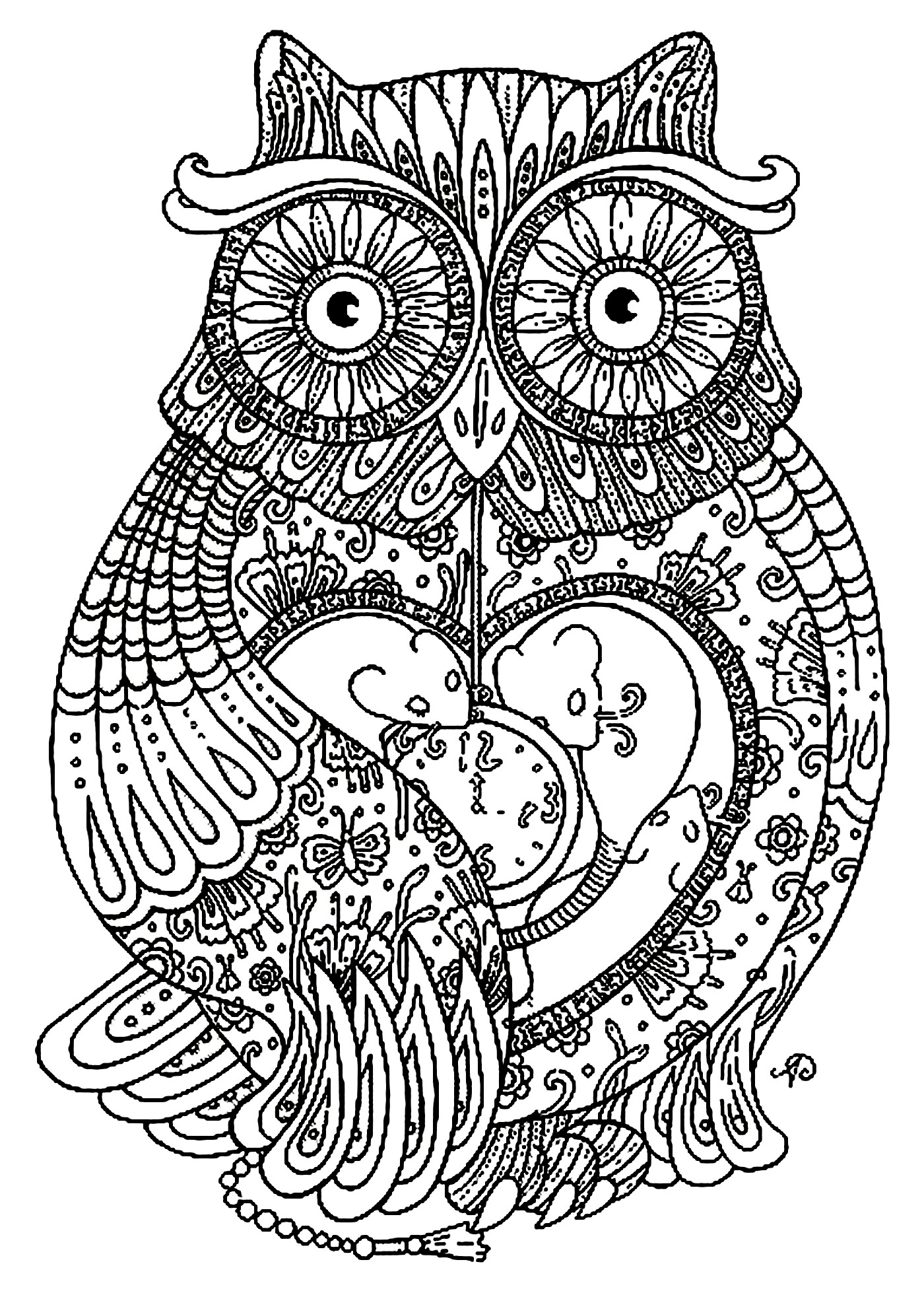 Fresh Owl Mandala Coloring Pages Design Printable Coloring Sheet to Print Of Modern Intricate Mandala Coloring Pages Coloring for Good Mandala to Print