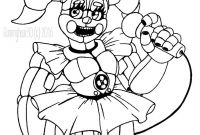 Fnaf Printable Coloring Pages - Fresh Printable Fnaf Baby Coloring Pages Design Download