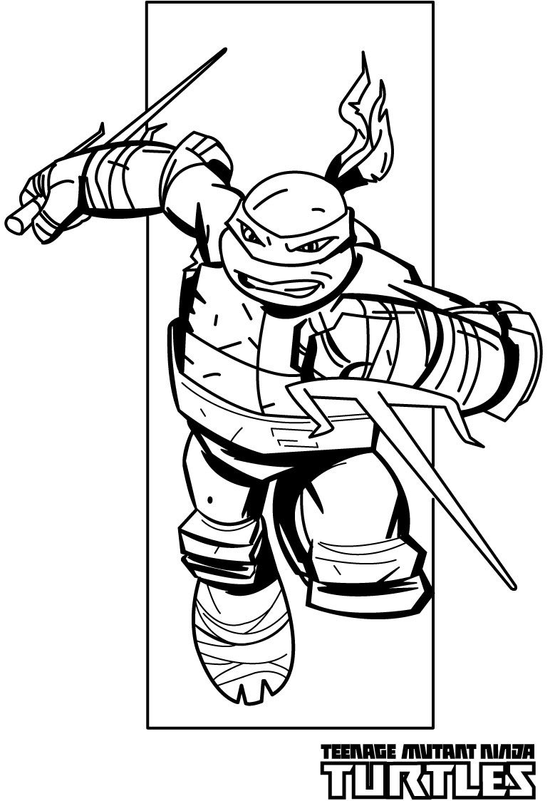Fresh Teenage Mutant Ninja Turtle Coloring Pages Raph Collection ...