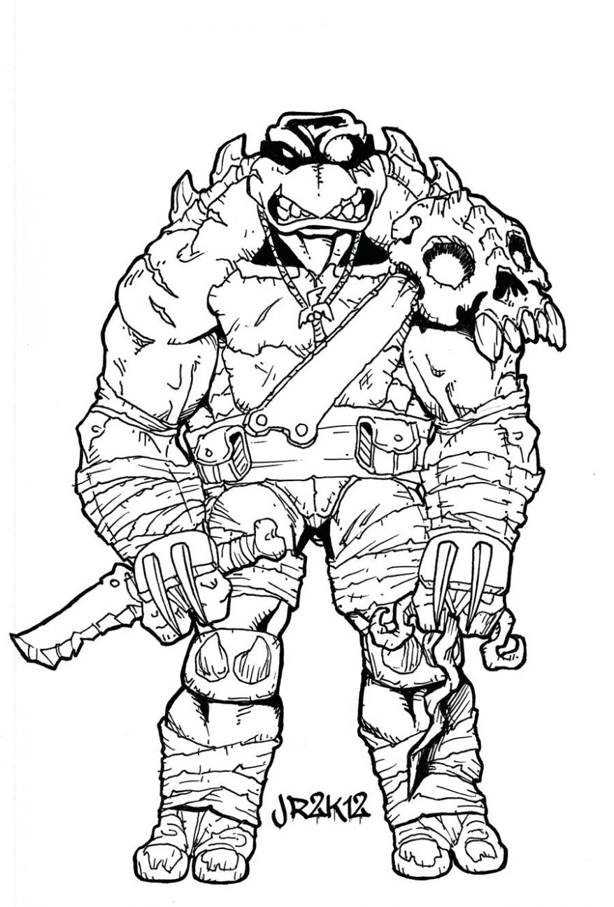 Teenage Ninja Turtle Coloring Pages Download | Free ...