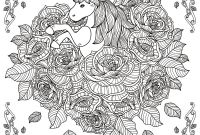 Mandala Coloring Pages to Print - Fresh Unicorn Mandala Coloring Pages Collection Collection