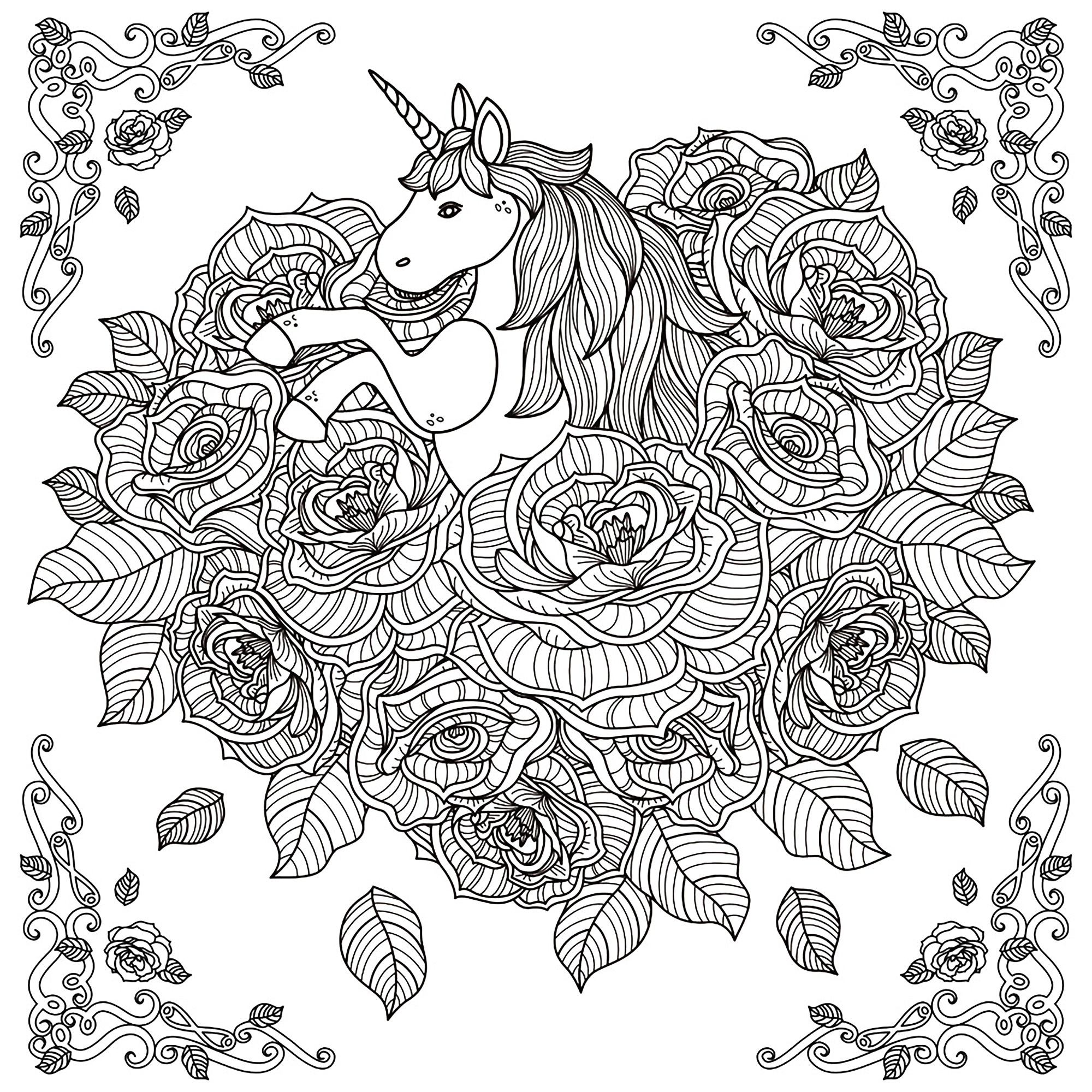 Fresh Unicorn Mandala Coloring Pages Collection Collection Of Modern Intricate Mandala Coloring Pages Coloring for Good Mandala to Print