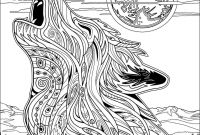Mandala Coloring Pages to Print - Fresh Wolf Mandala Coloring Pages Collection Collection
