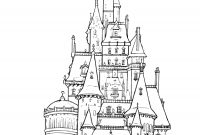 Free Coloring Pages Of Frozen - Frozen Castle Drawing Clipartxtras to Print