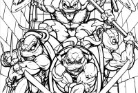 Teenage Ninja Turtle Coloring Pages - Get This Teenage Mutant Ninja Turtles Coloring Pages General Sheets Printable