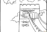Wall Coloring Pages - Great Wall China Coloring Page Gallery
