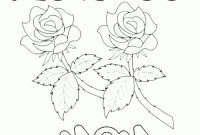 Happy Birthday Mommy Coloring Pages - Happy Birthday Mom Printable Coloring Pages Download