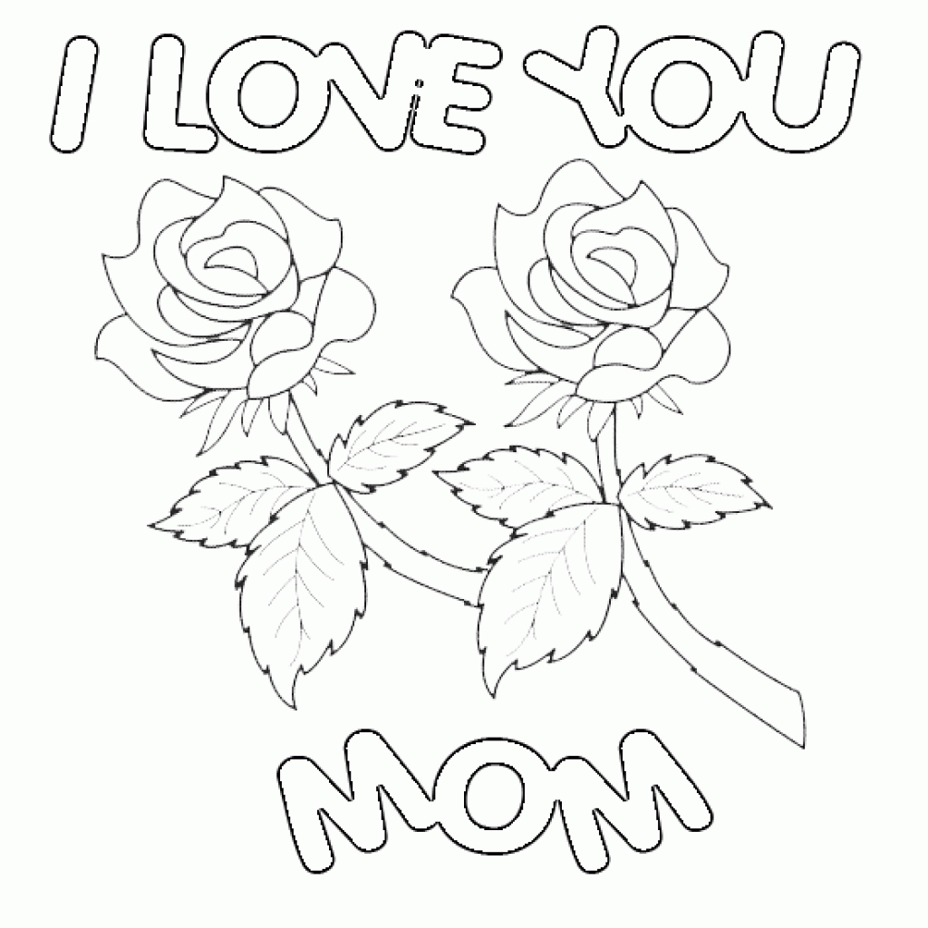 Happy Birthday Mommy Coloring Pages to Print 16m - Save it to your computer