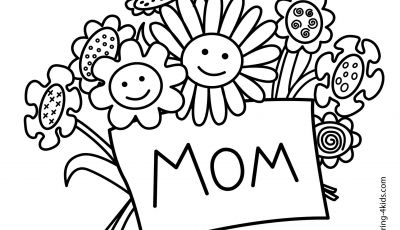 Mothers Day Coloring Pages Kids - Happy Mothers Day Coloring Page with Mother S Day Coloring Pages for Download