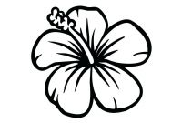 Coloring Pages Hawaiian Flowers - Hawaiian Flowers Coloring Pages 12 Collection
