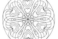 Mandala Coloring Pages to Print - Heart Mandala Coloring Pages Printable Get Coloring Pages Download Download