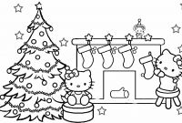 Printable Holiday Coloring Pages - Hello Kitty Coloring Pages Christmas Gallery