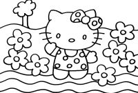 Hello Kitty Free Printable Coloring Pages - Hello Kitty Printable Coloring Pages Gamz Download