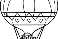 Hot Air Balloon Coloring Pages - Hot Air Balloon Coloring Page Bertmilne Download