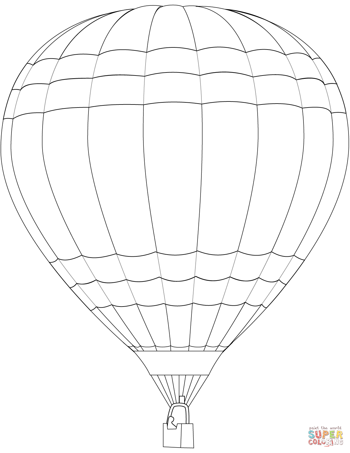 Hot Air Balloon Coloring Page to Print Of Hot Air Balloon Coloring Page Collection