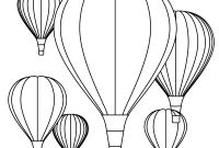 Hot Air Balloon Coloring Pages - Hot Air Balloon Coloring Pages Download