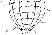 Hot Air Balloon Coloring Pages - Hot Air Balloon Coloring Pages Free Download