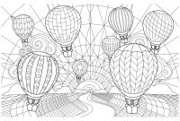 Hot Air Balloon Coloring Pages - Hot Air Balloon Coloring Sheets New Balloon Coloring Pages as Collection