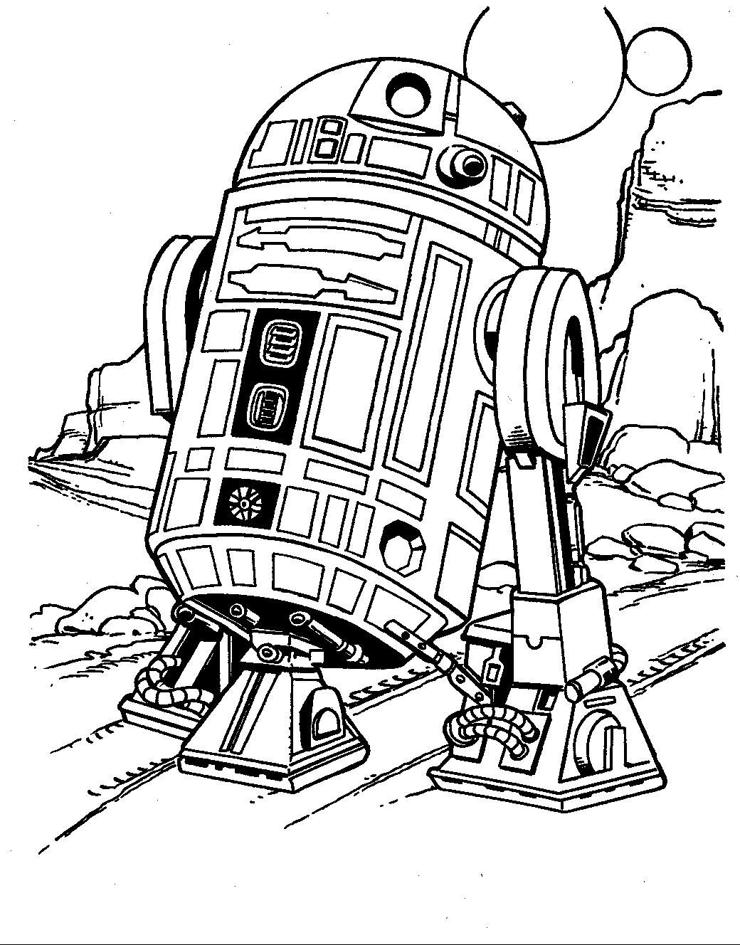 Star Wars Free Coloring Pages to Print | Free Coloring Sheets