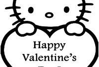 Valentines Printable Coloring Pages - if You Desire to Obtain the Hello Kitty Valentine Coloring Sheets Gallery