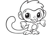 Cute Coloring Pages to Print - Imagination Monkeys to Color Cute Coloring Pages Baby Gallery