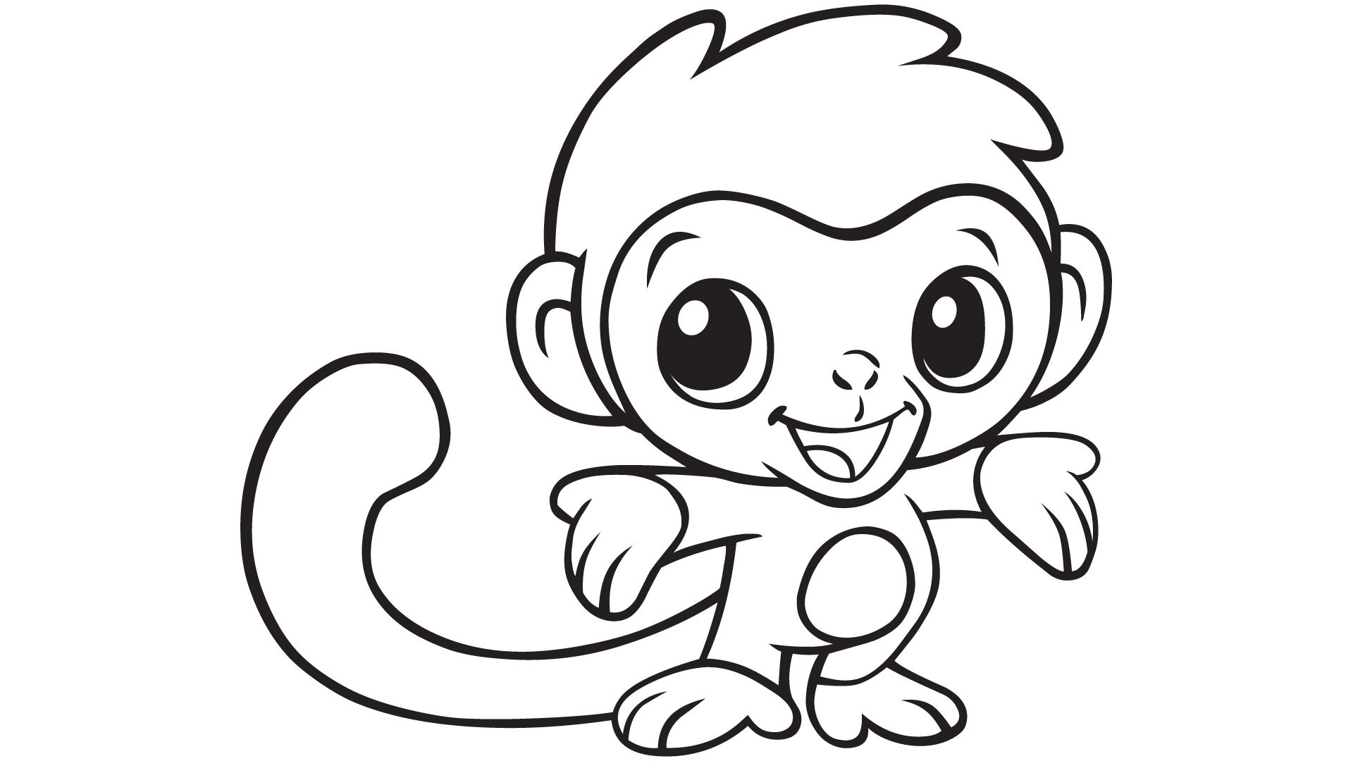 Imagination Monkeys to Color Cute Coloring Pages Baby Gallery Of Cute Coloring Pages for Girls Printable Kids Colouring Pages Kids Gallery