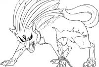 Wolf Coloring Pages Printable - Impressive Wolf Coloring Pages Printable Chibi Unknown to Print