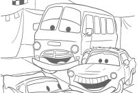 Cars the Movie Coloring Pages - In Cars Coloring Pages From the 2 Disney Movies – Fun Time Collection